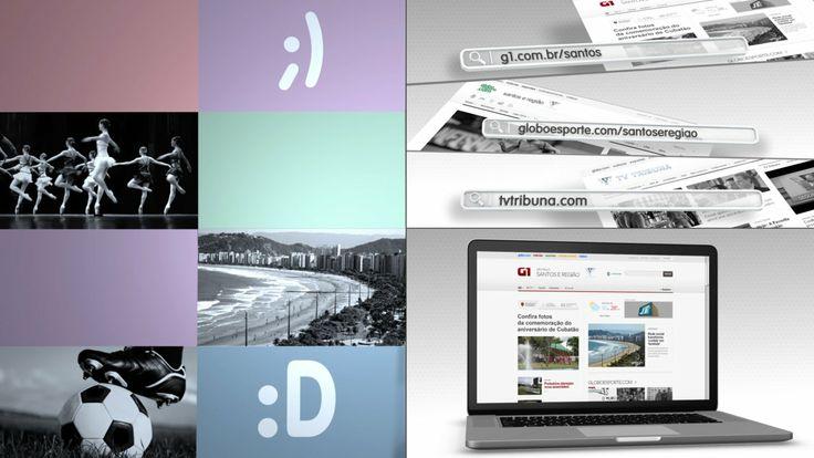 Portais Globo, G1, Globo Esporte, TV Tribuna - motion graphics, 3D animation  by https://vimeo.com/heitor