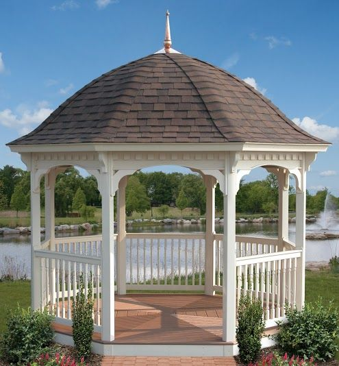 78 Best Images About Octagon Gazebos On Pinterest Vinyls