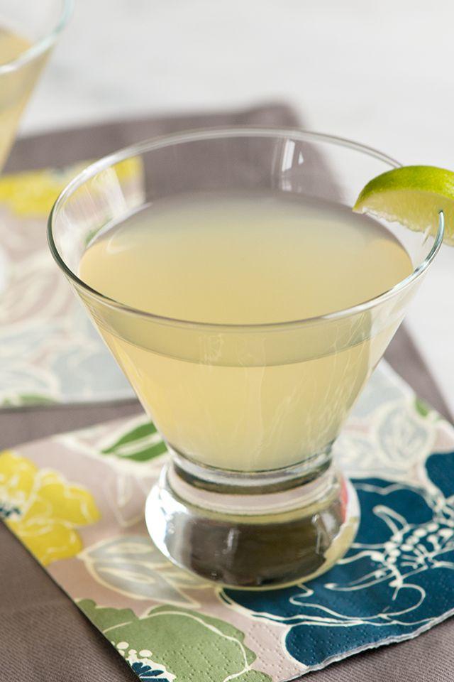 Ginger Cosmopolitan Cocktail Recipe from www.inspiredtaste.net #recipe #cocktail #drink