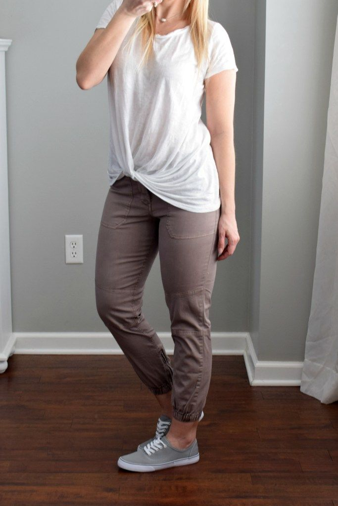 a10249ba5dfcd Stitch Fix Review March 2018  Cosmic Blue Love Dustin Ankle Zip Detail  Joggers