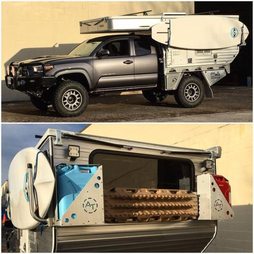 Build A Camper >> dailyhilux: Toyota Tacoma 2016 Fabbing is fun: testing out ...