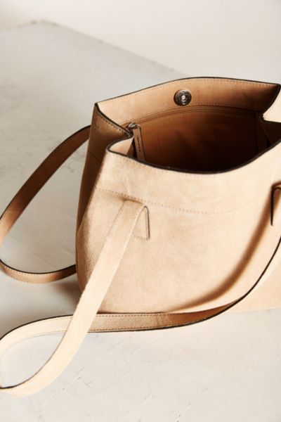 Kimchi Blue Suede Mini Tote Bag - Urban Outfitters