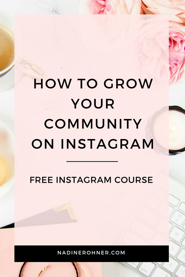 I will teach you 5 key strategies over 5 days so you can grow your community on Instagram.