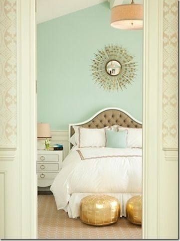 Superior For My Bedroom Next Year, Its Painted Mint Green. Good Colors To Go With