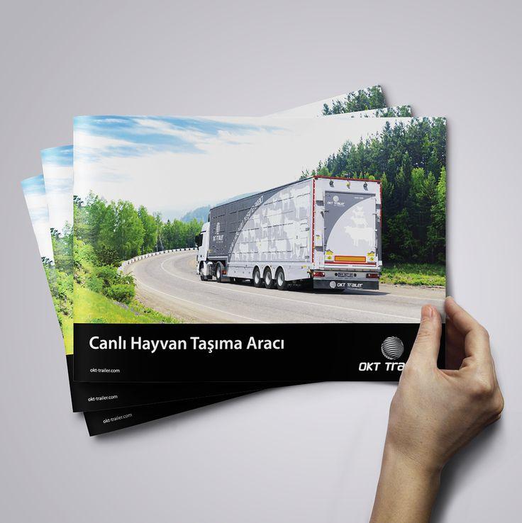 okt trailer canlı hayvan taşıma aracı için yapılan kurumsal katalog tasarımı & basımı. kurumsal ajans & tedarikci olarak ajansımızı tercih ettikleri için teşekkür ederiz. cagajans.com.tr