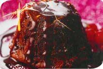 Melting chocolate puddings – Recipes – Slimming World