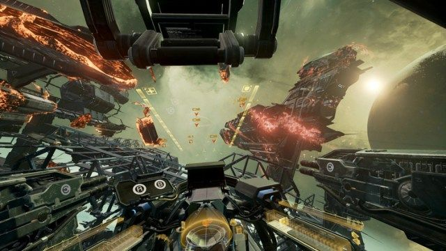 EVE Valkyrie review: Virtual reality space battle fun without the motion sickness