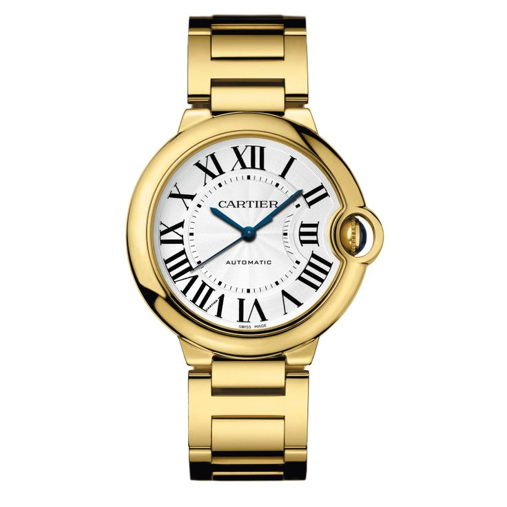 Très Chic - Cartier Gold Watch, $32000.
