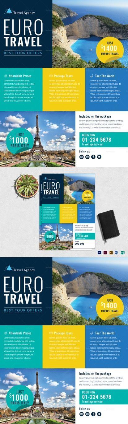 Travel Agency Marketing Flyer Template
