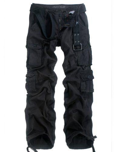 Match Women's Cargo Pants Sports Outdoors Military #2036M(Label size L/29 (US size 4),2032 Black) Match http://www.amazon.com/dp/B00ECSM29I/ref=cm_sw_r_pi_dp_BUFiub190SGQA