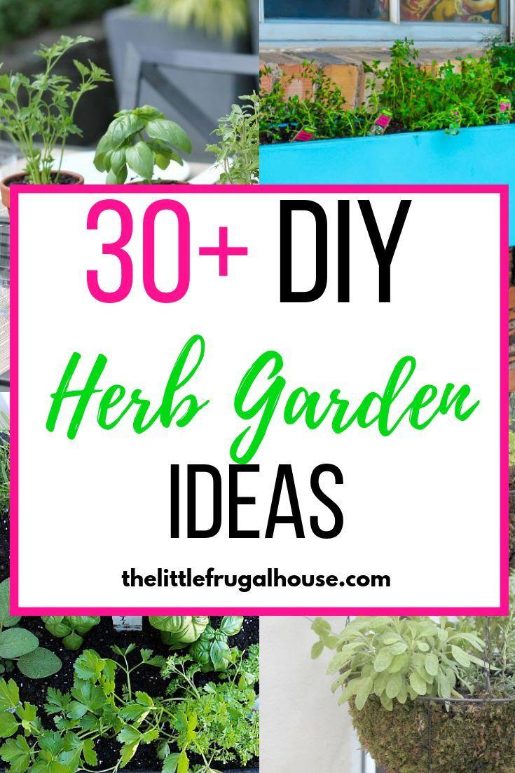 30 Herb Garden Ideas Diy Herb Garden Home Vegetable Garden