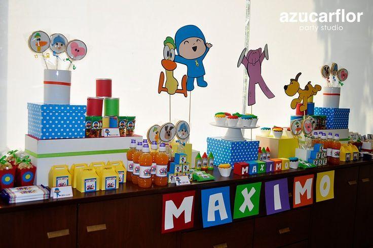 cumpleaños de pocoyo decoracion - Buscar con Google