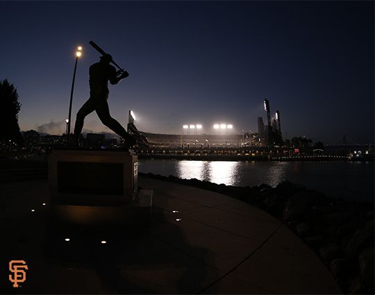 #ATTPark from across McCovey Cove.