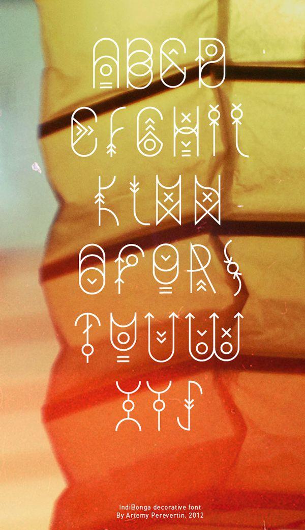 Indi Bonga on Typography Served