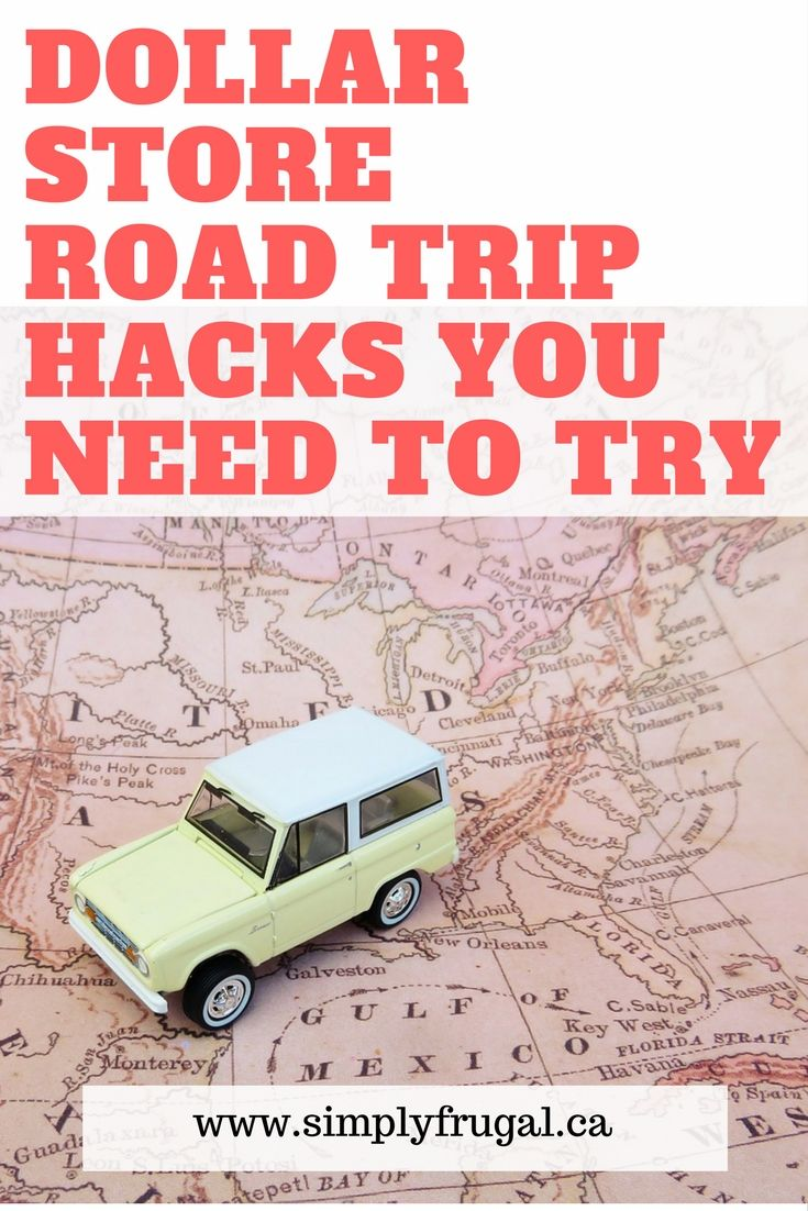 10 Dollar Store Road Trip Hacks You Need to Try