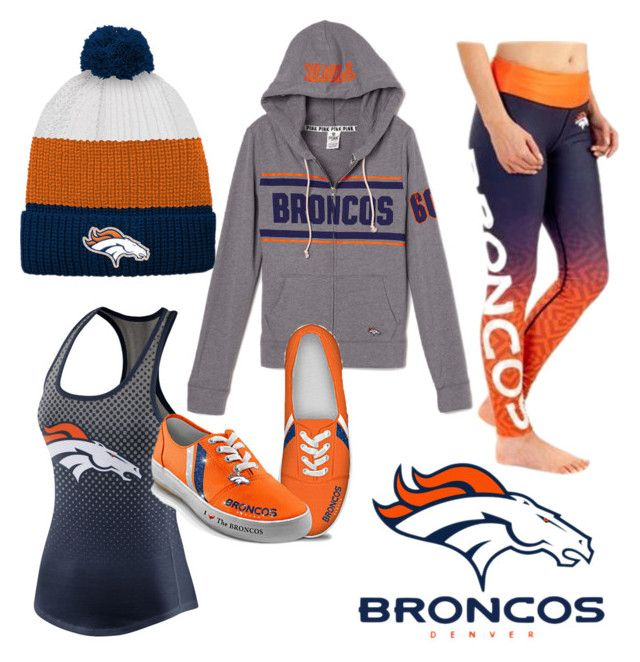 """""""Denver Broncos Game day outfit"""" by niclizmartin on Polyvore featuring Outerstuff, NIKE and The Bradford Exchange"""