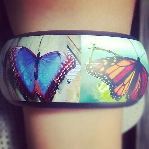 Butterfly bracelet. Reserved.
