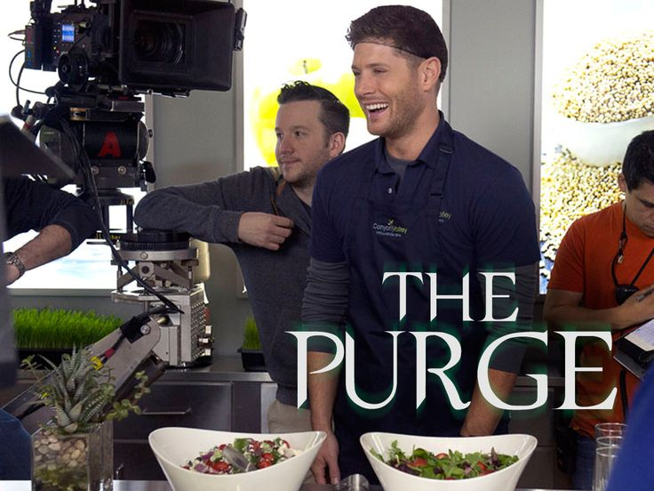 Jensen between the scenes