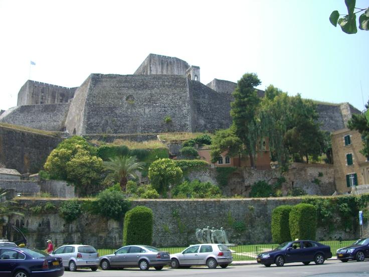 Corfu- new fort
