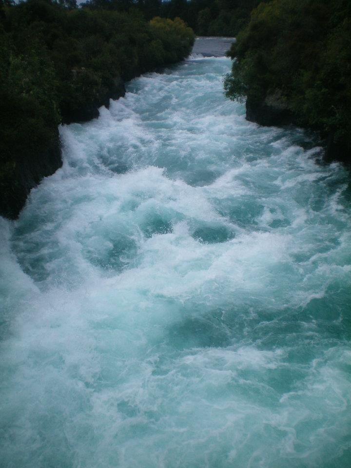 Haka falls, New Zealand