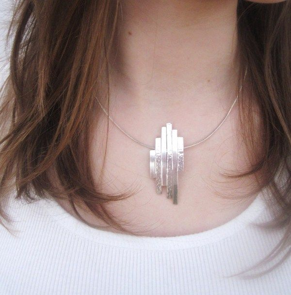 sterling silver necklace by Kim Mitchell