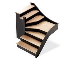 dogleg staircase with steps in mid landing - Google Search