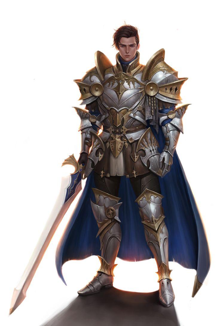 ArtStation - knight, 본임 구 | 갑옷캐릭터 | Pinterest | Artworks, Armors and Knight