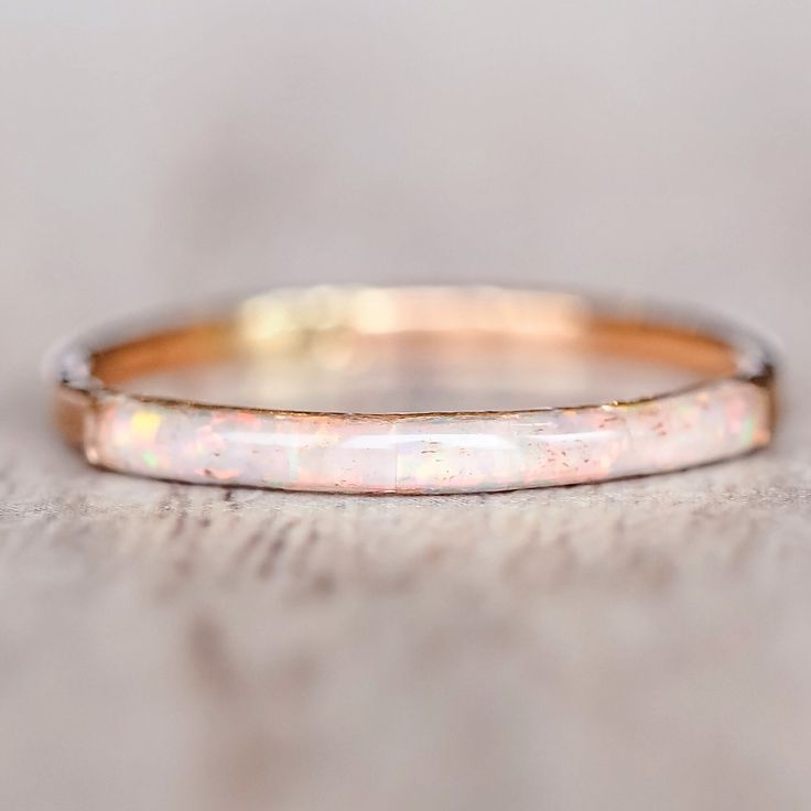 Mermaid Rose Gold Opal Ring   Bohemian Gypsy Jewels   Indie and Harper – www.i…
