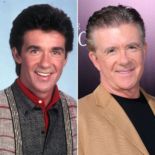 Alan Thicke, John Stamos and More Heartthrob Sitcom Dads — Then and Now!