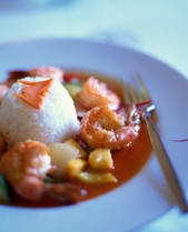 Feng Shui Sweet and Sour Shrimp