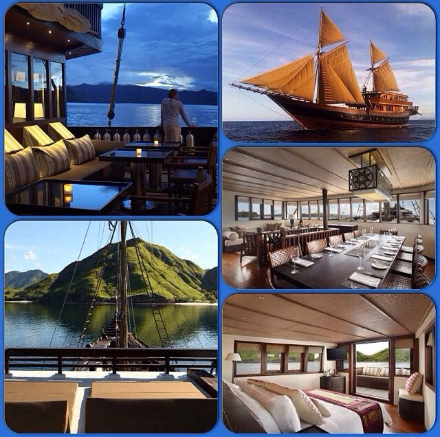 Alila purnama cruise , Indonesian islands , 10 passengers allowed 5 suites 16 crew members