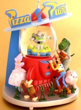 Disney Toy Story Pizza Planet Snowglobe