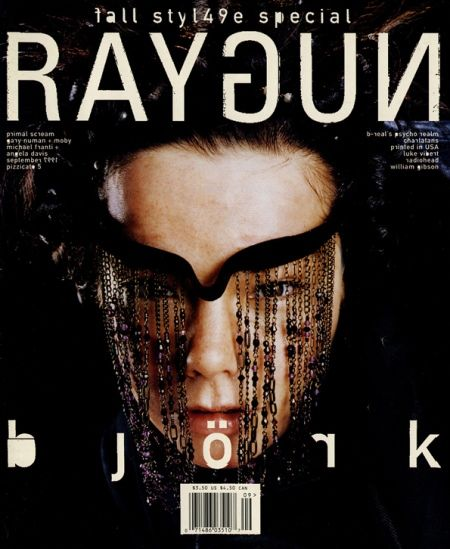 Cult cover, David Carson and Björk, pretty much sums up the midnineties.