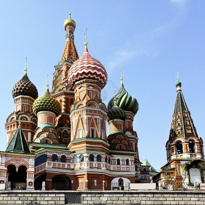 Moscow--Cathedral of St. Basil