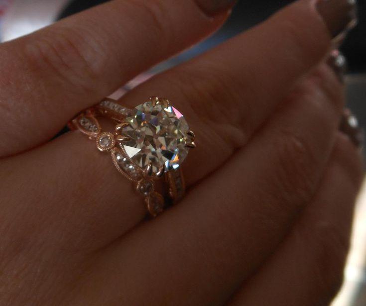 moissanite jewelry wedding ring