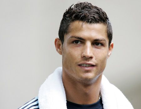Cristiano Ronaldo Soccer Player Haircut