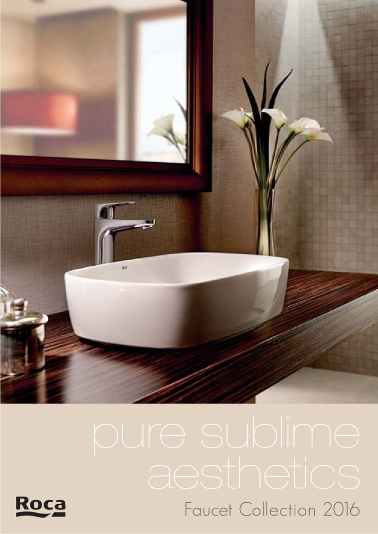 Browse the finest range of Basins, Faucets, WC, Bathtubs, Shower & furniture's and more bathroom products catalogues/catalogs of Roca at Wizbox.