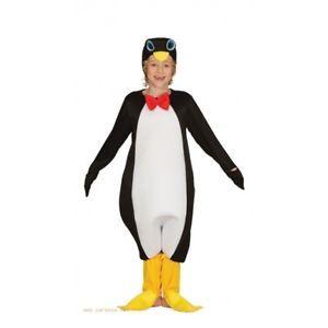 a disfraz pinguino infantil talla 3 4