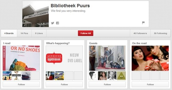 Bibliotheek Puurs http://pinterest.com/bibpuurs/
