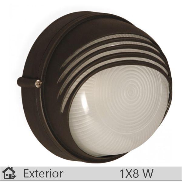 Aplica iluminat decorativ exterior Klausen, gama Parma, model Negru http://www.etbm.ro/