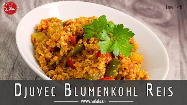 Djuvec-Reis - Blumenkohlreis nach Djuvec-Art Djuvec-Reis ist eines von Vronis absoluten Lieblingsgerichten. Mit Cevapcici übrigens, das ist ziemlich klassisch jugoslawisch glaube ich. Dummerweise gab es Djuvec-Reis schon länger nicht mehr bei uns, eben weil 'Reis'. Warum wir in den letzten Jahren nicht wirklich auf die Idee gekommen sind, da Gericht als Variante mit Blumenkohlreis zu machen, das weiß der Geier. Aber gut Ding will ja Weile haben und gelohnt hat es sich allemal. Djuvec ...