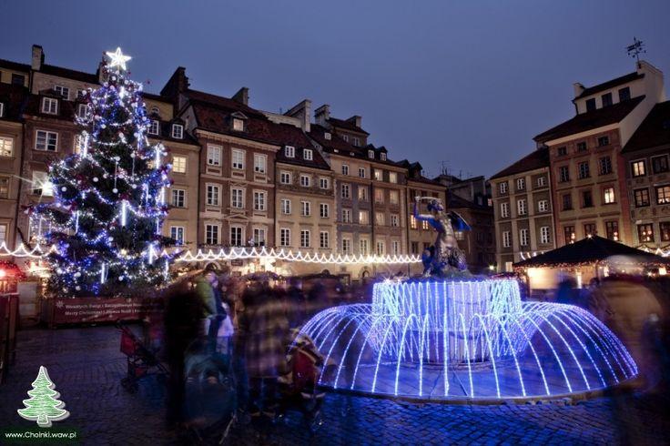 Świąteczna choinka na Starówce Warszawskiej 2012