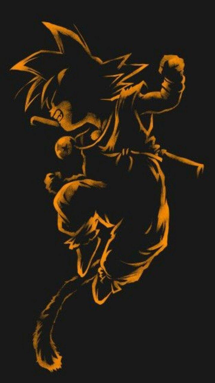 Goku quando criança ela tão engraçado e ainda é.