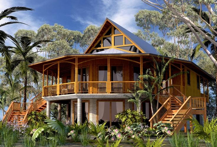 18 best sanctuary belize images on pinterest belize for Belizean style house plans