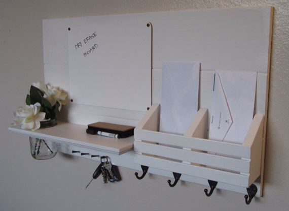 Replacement- Key Rack, organiser & white board.