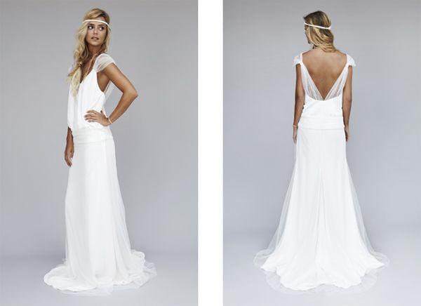robe mariage boheme chic  Idée projet  Pinterest  Mariage ...