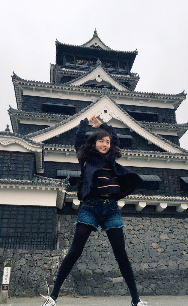 藤原さくら   熊本城