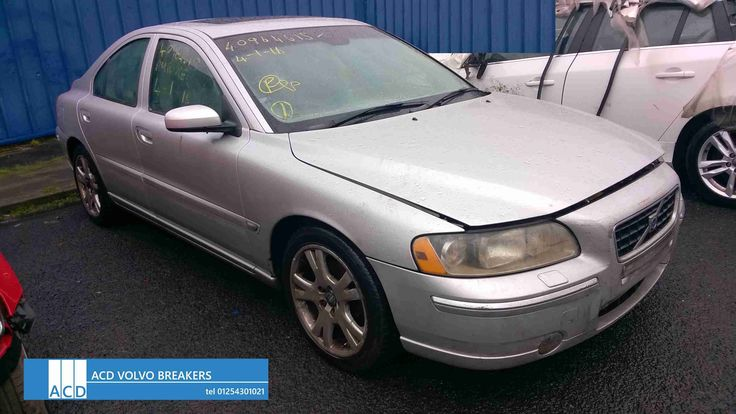 Dismantling Volvo S60 D5 SE 2.4L Diesel 2005 for parts Volvo S60 D5 SE 2.4L Diesel Automatic 2005 ACD Volvo breakers stock thousands of parts for Volvo S60 and all late model Volvo's Call ACD...