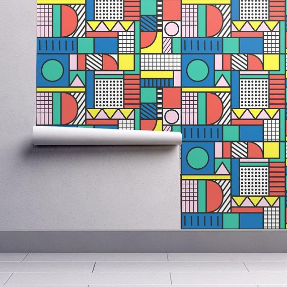 Color Block Wallpaper Color Block By Polita Color