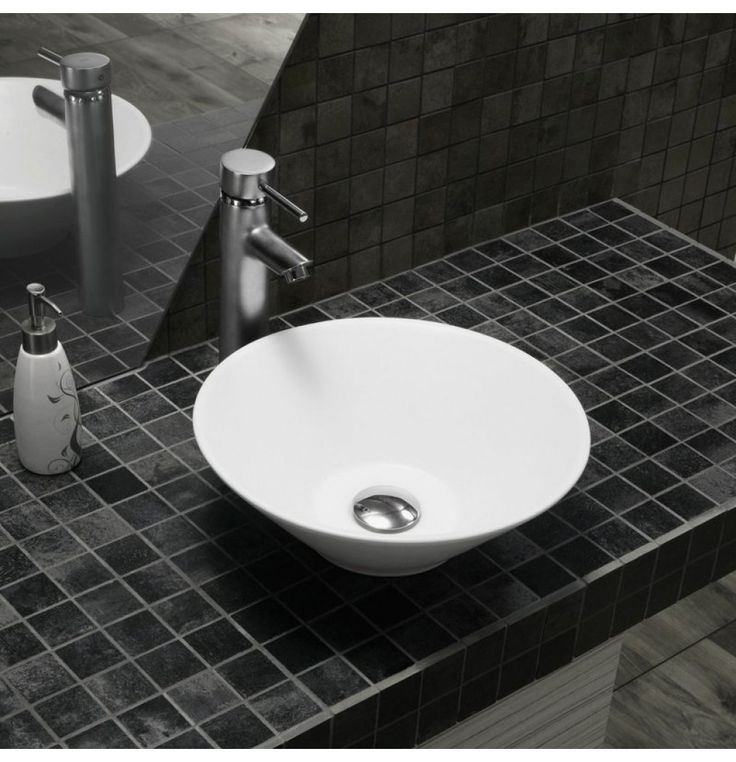 Soncera Exanza Table Top Basin Of 505 X 370 In White